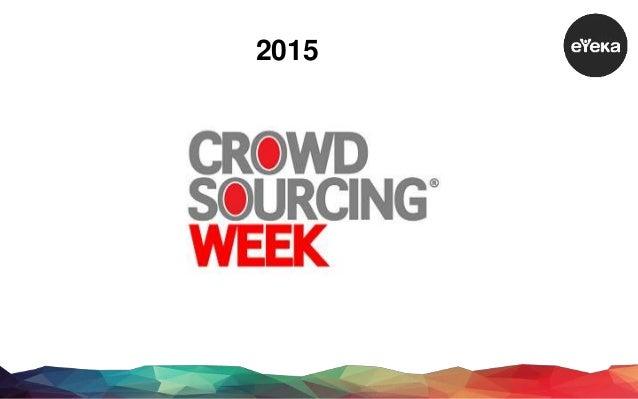 The 2015 eYeka Crowdsourcing Report for Brands Slide 3