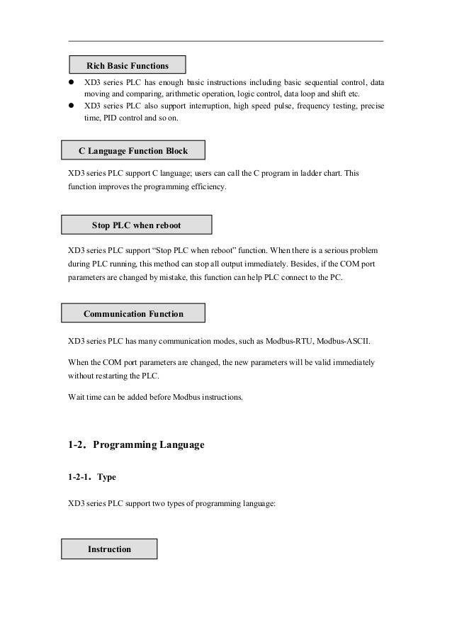 Xd Instruction Manual
