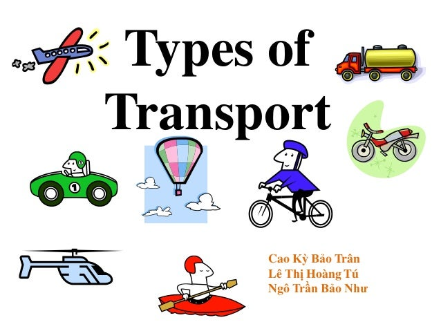 Types Of Transport In Britain