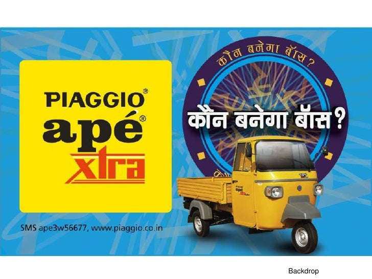 xebec communications - piaggio ape 3-w