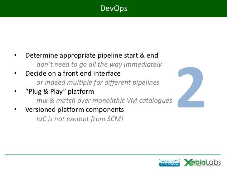 DevOps•   Determine appropriate pipeline start & end                                                     2        don't ne...