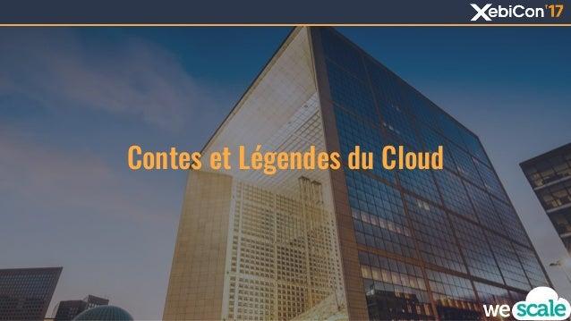 Contes et L�gendes du Cloud