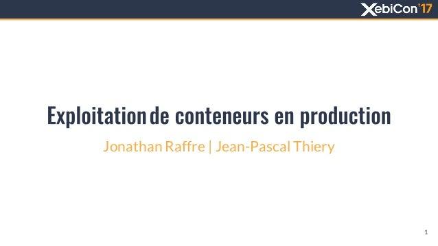 Jonathan Raffre | Jean-Pascal Thiery 1