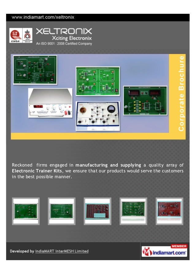 Reckoned firms engaged in manufacturing and supplying a quality array ofElectronic Trainer Kits, we ensure that our produc...