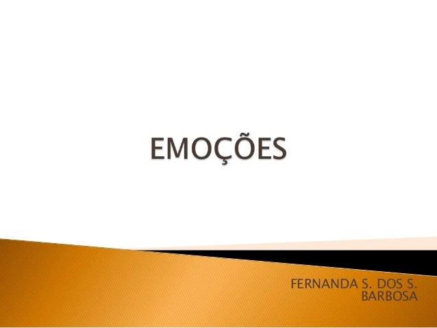 FERNANDA S. DOS S. BARBOSA
