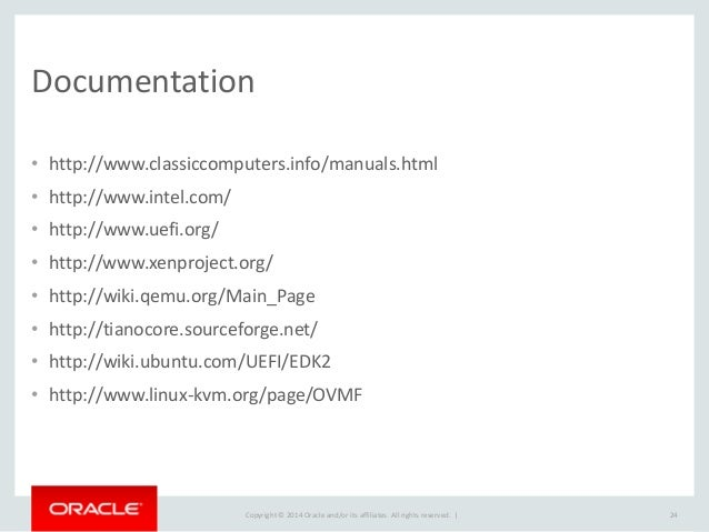 XPDS14 - Xen in EFI World - Daniel Kiper, Oracle