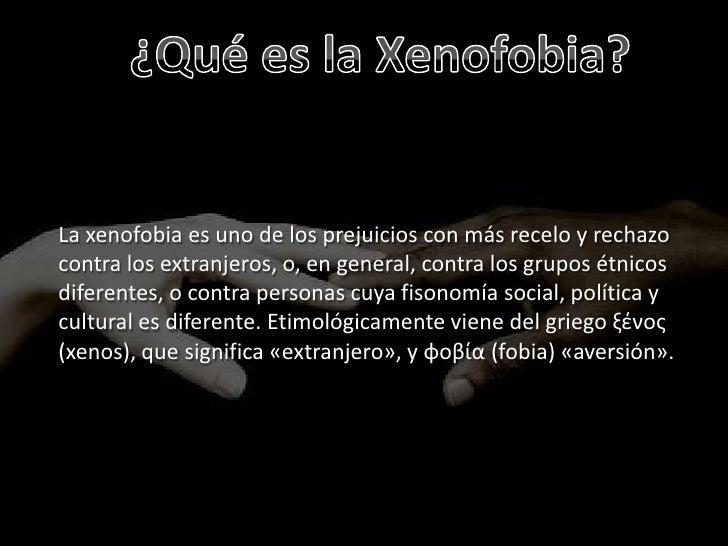 Xenofobia Slide 3