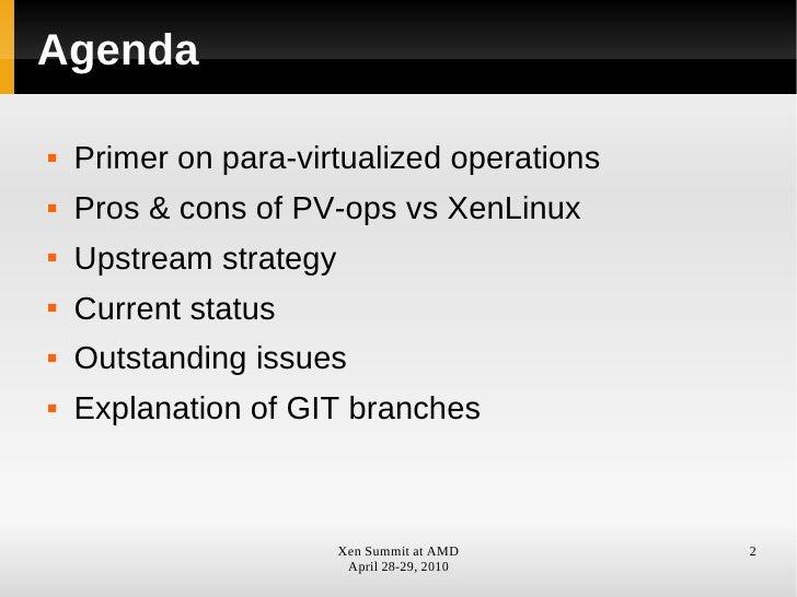 PVOps Update  Slide 2