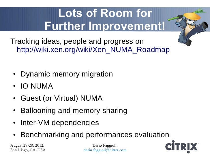 NUMA and Virtualization, the case of Xen