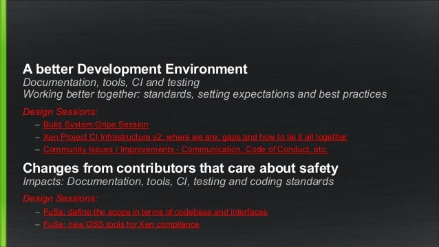 New Website 1 year ago we agreed a vision for improving our CI infra There has been significant progress (Doug, Wei & Othe...