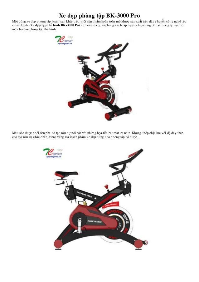 Xe đạp phòng tập BK-3000 Pro Một dòng xe đạp phòng tập hoàn toàn khác biệt, một sản phẩm hoàn toàn mới được sản xuất trên ...
