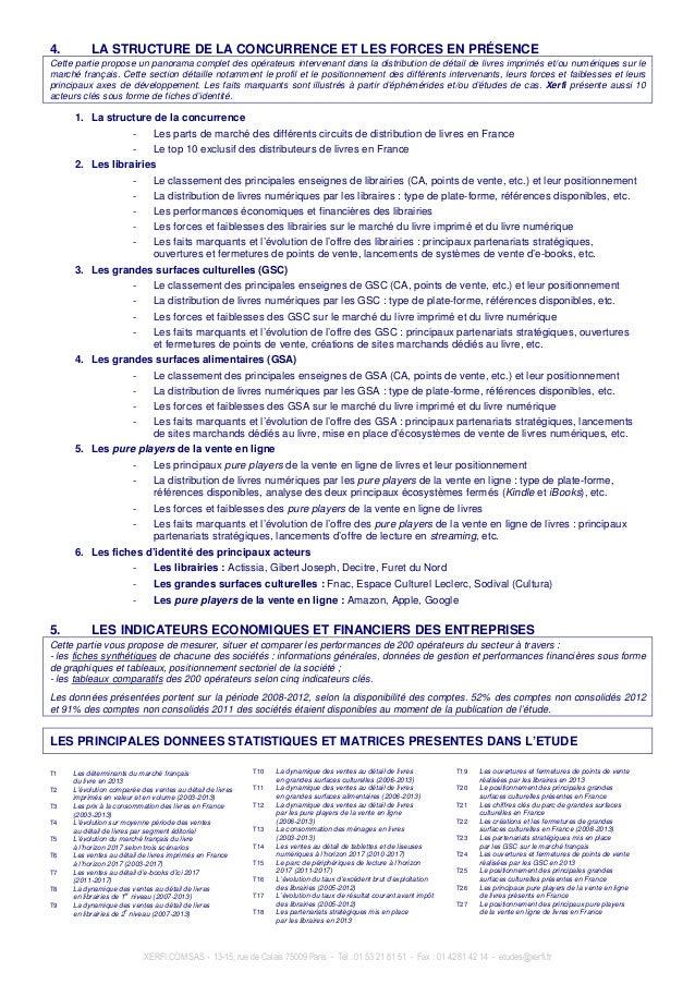 XERFI.COM SAS - 13-15, rue de Calais 75009 Paris - Tél : 01 53 21 81 51 - Fax : 01 42 81 42 14 - etudes@xerfi.fr 4. LA STR...