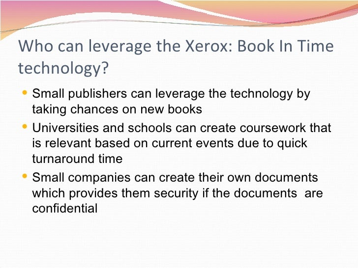 Xerox Case Study Analysis   Case Study SlideShare Small Mid size Businesses Admit Paper Processes Waste Time       out of