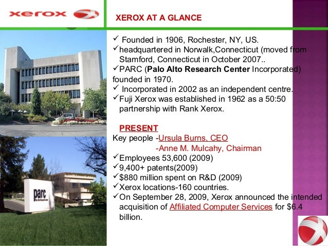 xerox downfall That's what sir ken robinson believes is the downfall of our public education  system, and the same institutional problems are plaguing many.