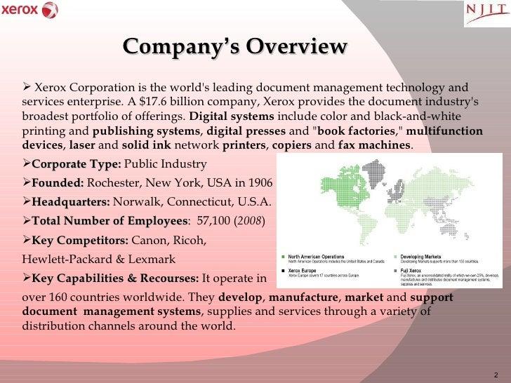 Xerox Presentation