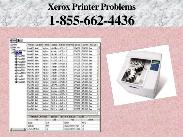 1 855 662 4436 Xerox Printer Not Responding-Printer Not