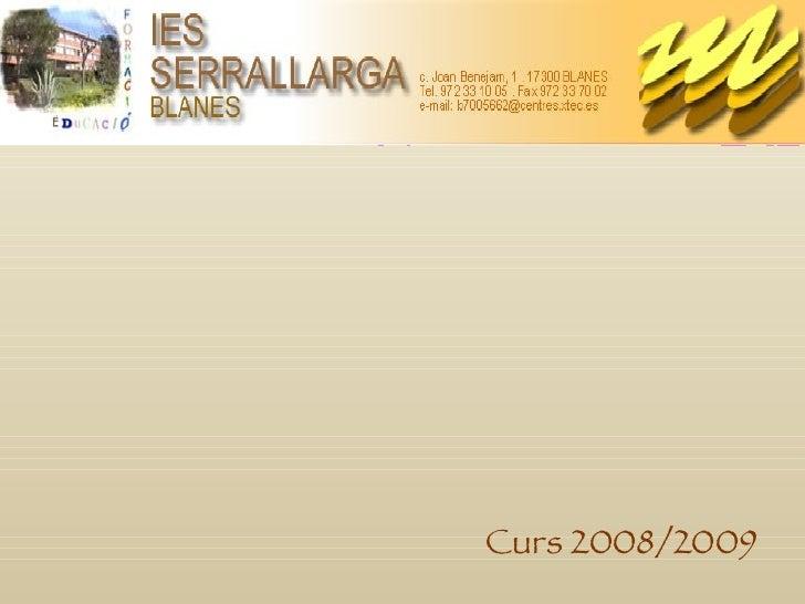 Curs 2008/2009
