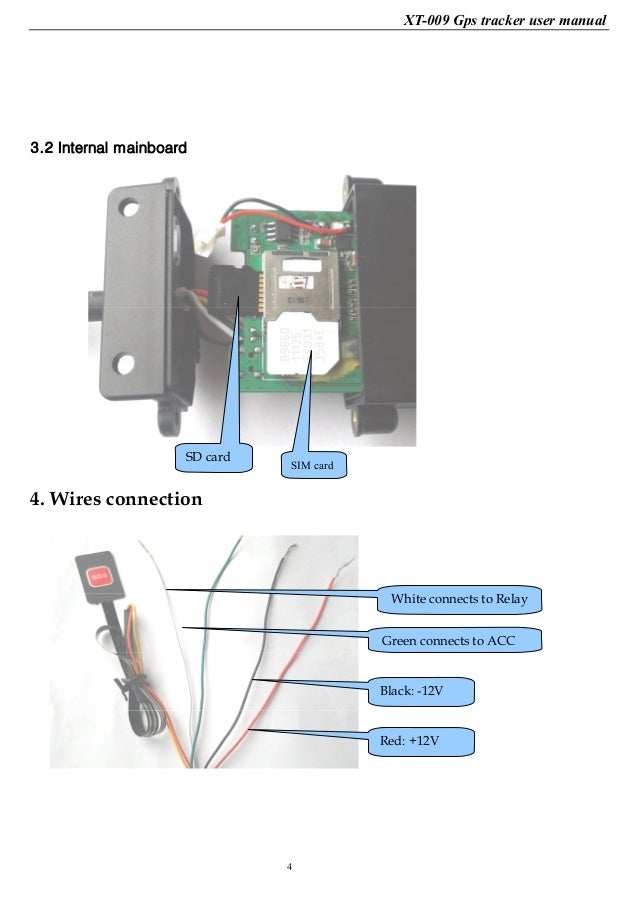 Xexun Gps Vehicle Tracker Xt009 User Manual