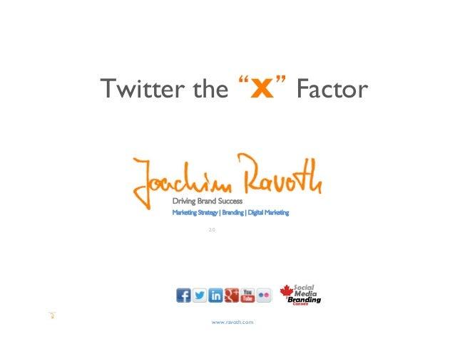 "Twitter the ""X"" Factor      Driving Brand Success      Marketing Strategy | Branding | Digital Marketing                ..."