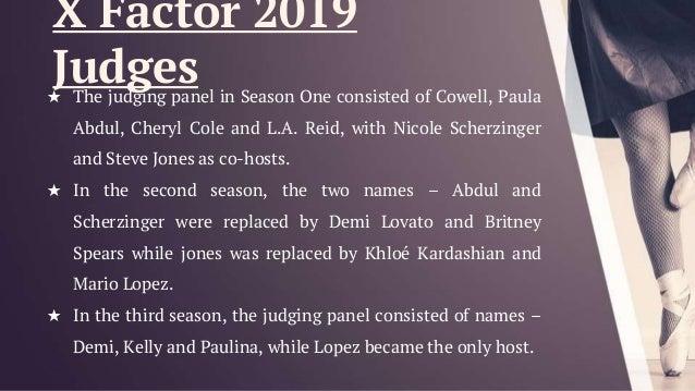 X Factor Judges 2011 Names X factor USA 2019 Audi...