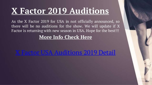 X factor USA 2019 Auditions