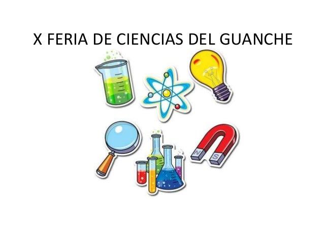 X FERIA DE CIENCIAS DEL GUANCHE
