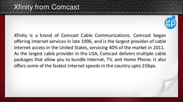 comcast cable packages