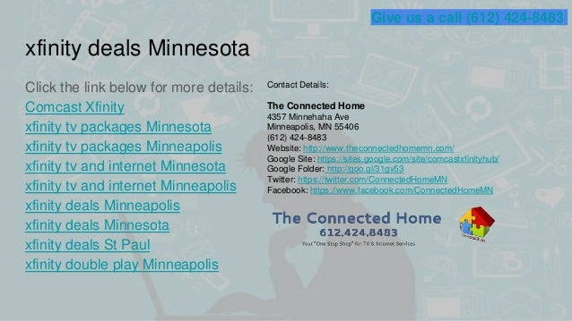 Xfinity tv packages minnesota