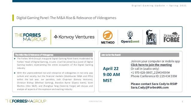 Forbes digital gaming report_spring 2021_final Slide 2