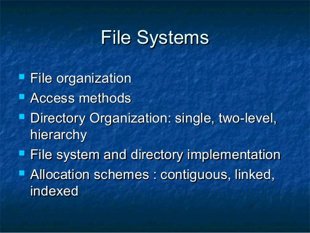 Xfs File System For Linux