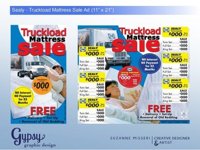 mattress sale ad. Sealy \u2013 A Great Night\u0027s Sleep Mattress Sale Ad (11\u201d X 21\u201d) D