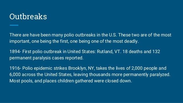 Polio for Polio transmission swimming pools