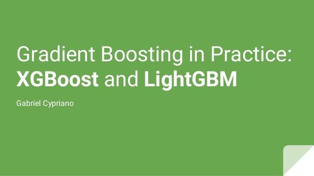XGBoost & LightGBM