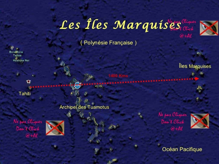 Ne pas Cliquer                 Les Îles Marquises                     Don't Click                                         ...