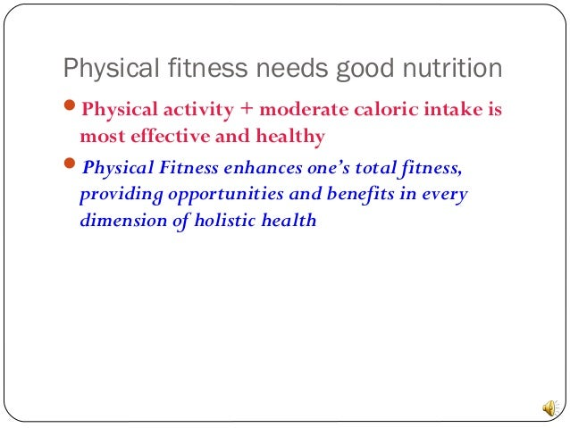 Physical Activity Nutrition And Stress Management Goodrich