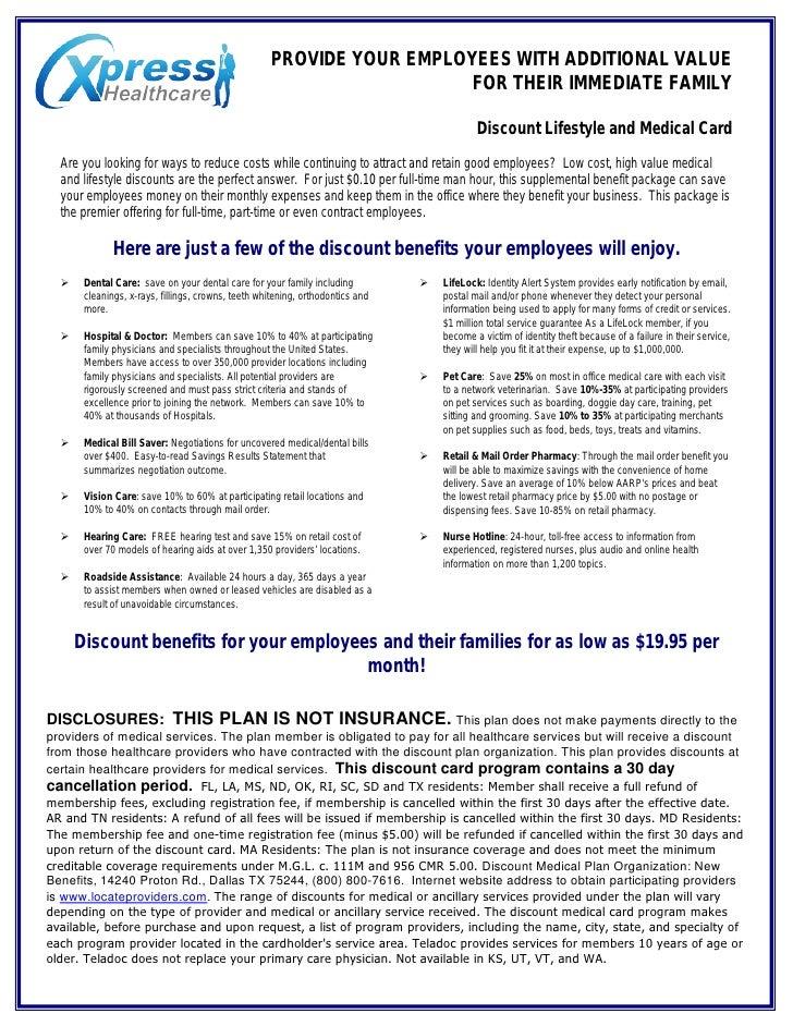 Xpress Healthcare Employer Flyer