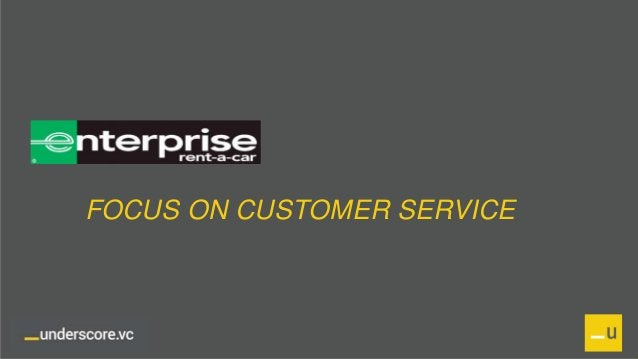 Proprietary and Confidential FOCUS ON CUSTOMER SERVICE