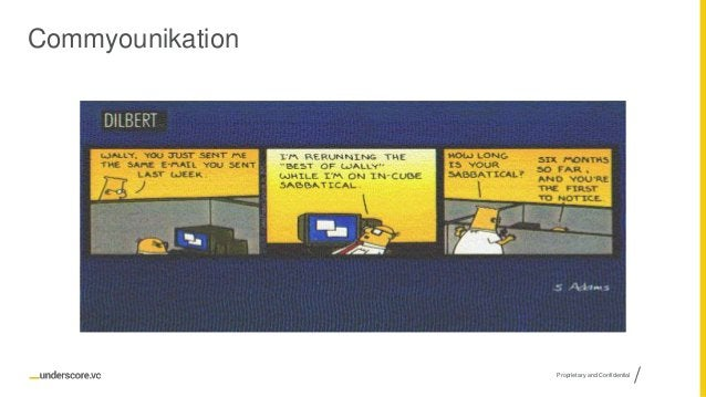 Proprietary and Confidential Commyounikation