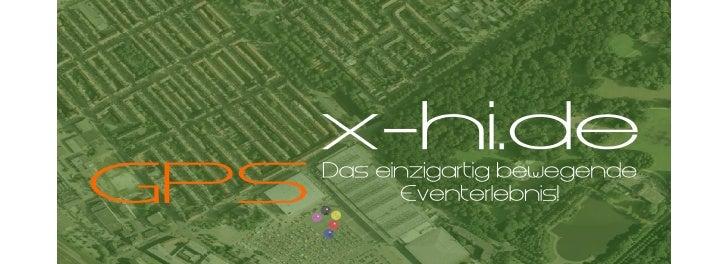 x-hi.de - Exciting GPS-Events