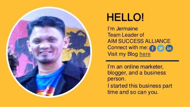 Aim success alliance online marketing slide share