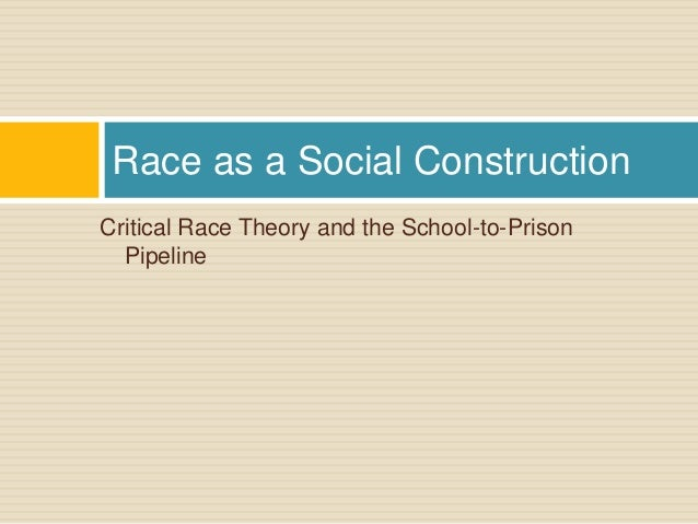 Concepts of race and racism and implications for OHRC policy