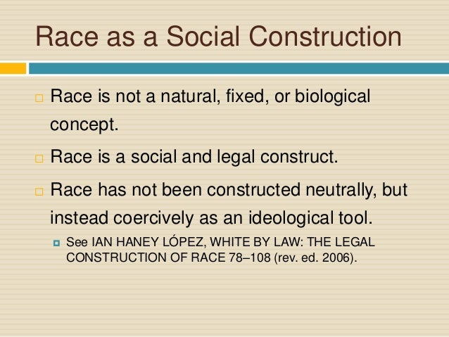 Bill Nye: Race is a Human Construct