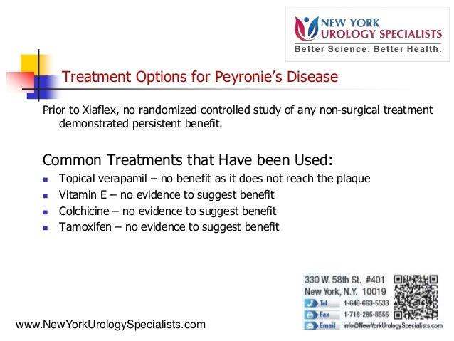 treatment for peyronie with vitamin e