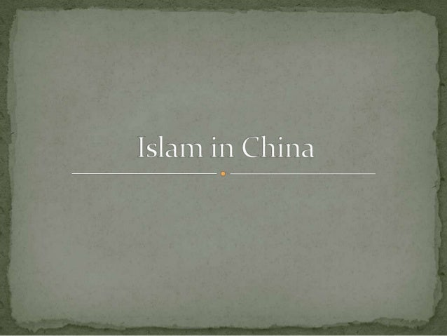 •The history of Islam in China began in the 7th century in TangDynasty just a few decades after the rise of Islam.•Othman ...