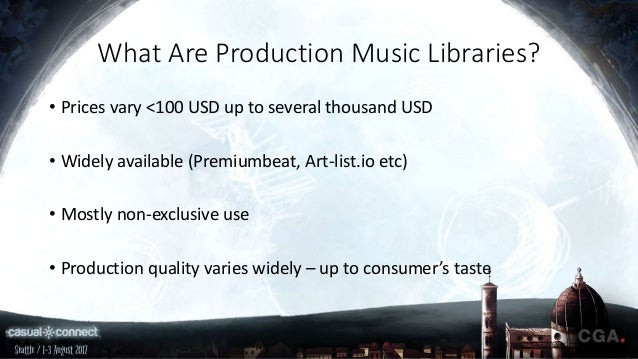 Production Music Libraries for Game Developers (Pros & Cons) | Xiao'a…