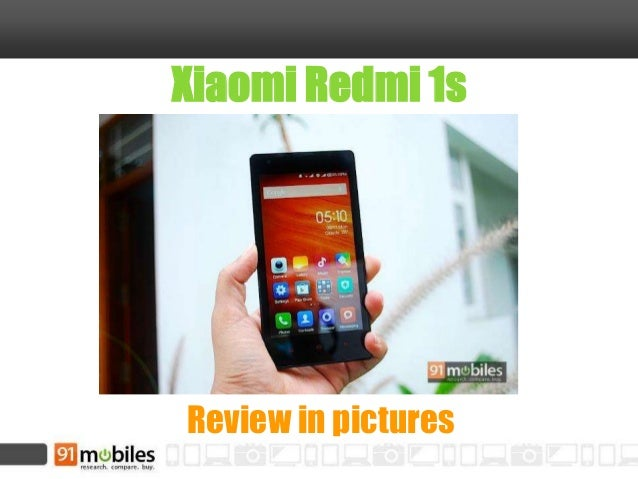 Xiaomi Redmi 1s review in pictures