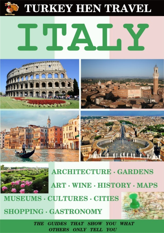 CONTENTS 1. Italy in the map …............................................................................... 4 2. A portr...