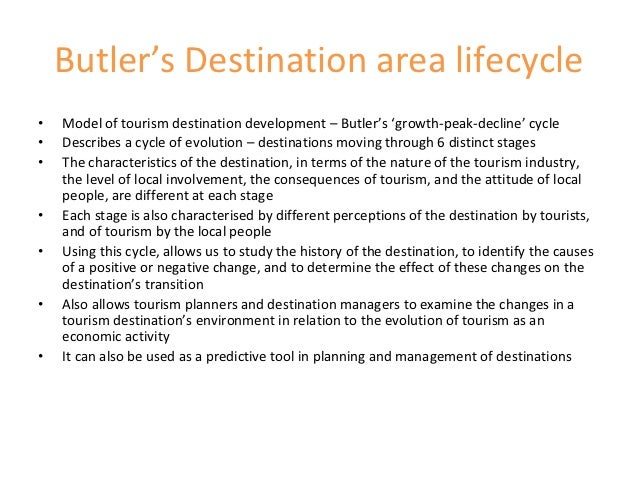 tourism area life cycle examples