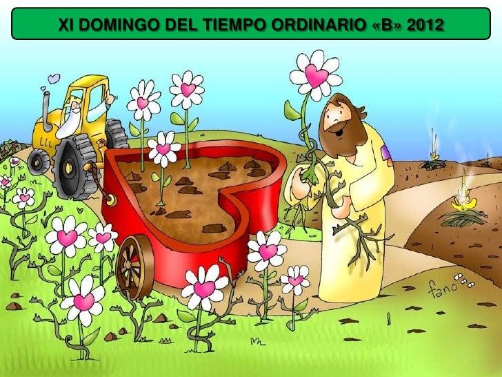 XI DOMINGO DEL TIEMPO ORDINARIO «B» 2012