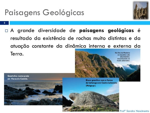 XII - PAISAGENS GEOLO Slide 2